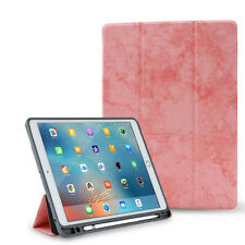 Shockproof Flip Wallet Leather Case Smart Cover With Pencil Holder For iPad 9.7