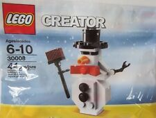 LEGO CREATOR CHRISTMAS XMAS HOLIDAY SNOWMAN 30008 NEW IN POLYBAG 44 PCS RARE HTF