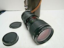 Vivitar 75-205mm1:3.8 Close Focusing Auto Zoom For Nikon AI Lens Made In Japan