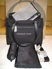 New OROTON Signature O - Baby Bag (blac) $495 + change Mats, wet bag, bottle
