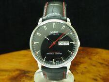 Mido Commander II Edelstahl Automatic Chronometer Herrenuhr M021.431.16.051.00