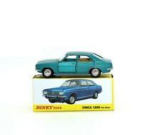1/43 DINKY TOYS 1409 SIMCA 1800 Pre-serie die-cast CAR MODEL COLLECTION ATLAS