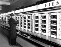 """1936 Automat, 8th Ave, Manhattan, NYC Old Photo 8.5"""" x 11"""" Reprint"""