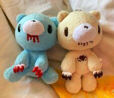 RARE! Mori Chack Taito Gloomy Bear Amusement Sample Prototype Plush Toys x2