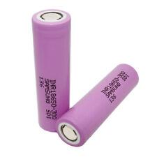 2X 18650 Batterie 3000mAh 3.7V High Drain 30Q Li-ion Rechargeable Batteries NEW