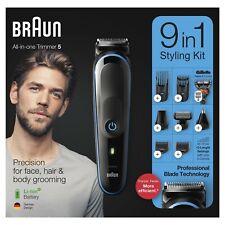 Braun 9-in-1 MGK5280 Hair Clipper Beard Trimmer Shaver Razor Body Grooming Kit