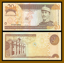Dominican Republic 20 Pesos Oro, 2003 P-169c Uncirculated Unc