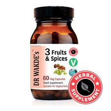 DR WAKDE'S® 3 Früchte & Gewürze Kapseln I FREIES VERSCHIFFEN I 100% natürliche K