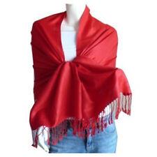 Elegant Pashmina Cashmere Scarf Wool Shawl/Wrap/Red