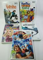 Nintendo Wii 5 Game Lot - Epic Mickey, Wipeout, Shaun White, We Cheer - MORE