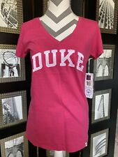 Duke Blue Devils university Pink  Ladies Women's Athletic T-Shirt NEW!