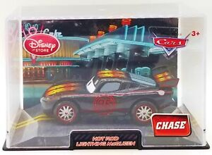Disney Pixar Cars Chase Hot Rod Lightning McQueen Disney Store Die-Cast Vehicle