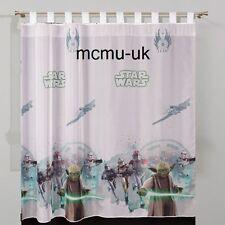 Ficha de Disney Top Voile Cortina neto-Star Wars-Jedi - 75cm Ancho x 157cm de gota