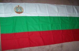 BULGARIAN FLAG, COTTON, SOVIET MADE *NICE*