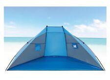 Concha playa / Protección solar Explorer 270x120x120cm azul