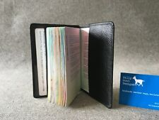 Leather Passport Cover Black Buffalo PPB Travel Ticket Billy Goat Designs