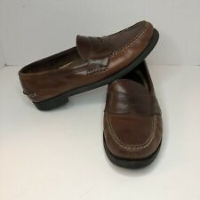 Sperry Top-Sider Mens Brown Leather Penny Loafer   Casual Shoes 0814574 11.5 M