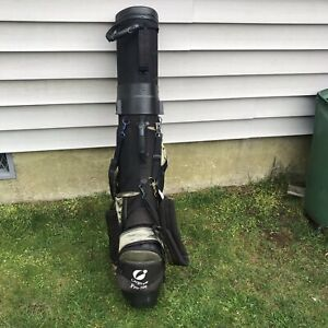 Cargo Pro 700 Hard Side Golf Travel Bag-Wheeled, Lockable Good Used Condition