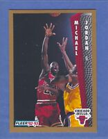 1992-93 Fleer Michael Jordan CHICAGO Bulls #32 Gem Mint Quality & Well Centered!
