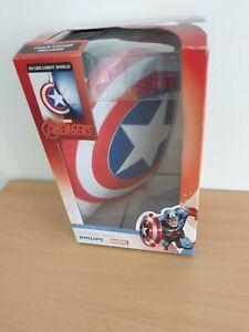 Marvel Avengers Captain America 3d led light shield