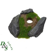 Grand ovale résine ARDOISE ROCK bases-Warhammer 40 K Flyer-Choisir Style