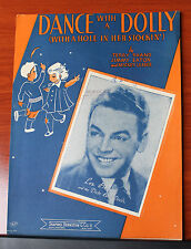 1944 sheet music- Dance with a Dolly  -Piano vocal chords Les Brown, Shand Eaton