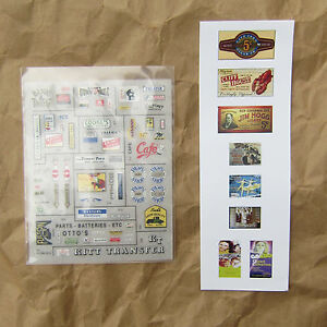 NEW ~ 70+ DRY TRANSFER DECALS by Woodland Scenics ~ Mayhayred Trains N Scale Lot