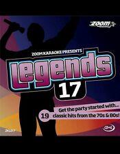 Karaoke CDG Zoom Leyenda Vol 17 Super Collins 19 pistas/ELO/10cc/P.