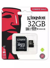 Kingston 32GB Micro SD SDHC Memory Card Class 10 80MBs with SD card Adapter New