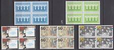 kavel blokjes van 4 zegels 1984 (2) postfris (MNH)