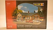 """FALLER HO kit Haltepunkt """"Sonnerfeld"""" - Wayside Train Station #110095"""