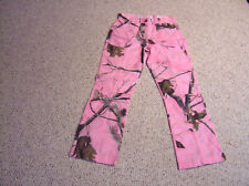 Girls Pink real tree camo pants Free Shipping U.S.A.