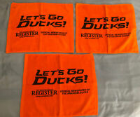Anaheim Ducks - Rally Towels - Lot Of 3 - Lets Go Ducks! Fowl Towels!