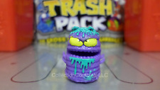 Trash Pack Trashies Series 4 - PURPLE SPLAT SLATER #617 - Special Edition Biter