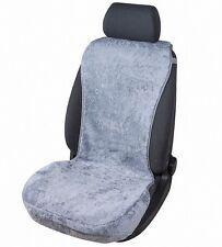 kuschelweiche Universal echt Lammfell Autositz Auflage grau für alle PKW