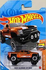 hot wheels Chevy Silverado Off Road Orange New Release 2021 K Box