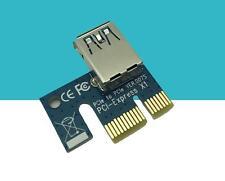 USB 3.0 Pcie PCI-E Express x1 VER007S Extender Riser Card Adapter for Mining BTC