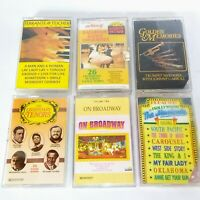 Broadway And Instrumentals Cassette Tapes