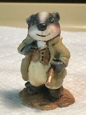 Wee Forest Folk Wind in the Willows set Badger, HTF and retired