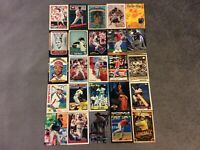 HALL OF FAME Baseball Card Lot 1978-2020 CHIPPER JONES SANDY KOUFAX MAX SCHERZER