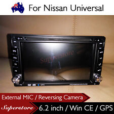 "6.2"" Double DIN Navigation Car DVD GPS Stereo Player 2 din For Nissan Universal"