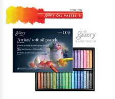 Soft Oil Pastel for Artist Mungyo Gallery Premium  36 Colours Drawing MOPV36