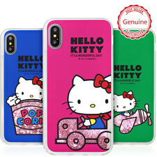 Genuine Hello Kitty Retro Glitter Case iPhone 7/8/iPhone 7/8 Plus Case 5 Colors