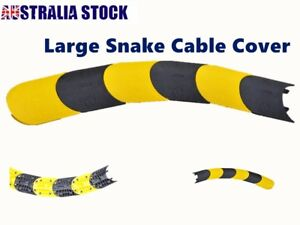 1 Channel Large Snake Cable Hose Wire Cover Ramp Protector Guard 4 Cables Fit