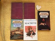 William Shakespeare Collection Includes 2 Antique Hardbacks