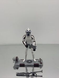 star wars the clone wars action figures 3.75 CW56 ARF Trooper