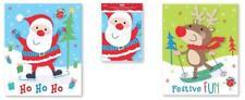 Pack of 4 Giant Christmas Sacks Christmas Present Toy Gift Bags Xmas Stocking