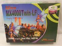 Jaton 3D Force MX4000TWIN-LP nVidia GeForce MX 4000 GPU 3D Gaming Card