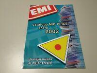 0120- CATALOGO MID PRICE ENERO 2002 NOVEDADES JAZZ/POP 87 PAGINAS