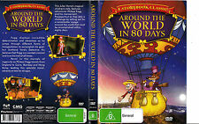 Around The World in 80 Days-A Storybook Classic-1940-Animated-Movie-DVD
